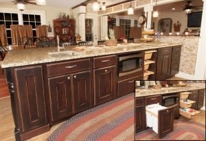 d001_22 Library Accessories Base Kitchen-Showroom-Designer-Cabinets-Remodeling Ulster County-Monroe-Middletown